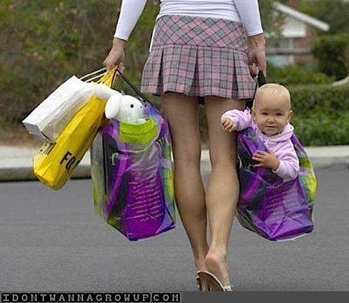 cute-baby-in-a-shopping-bag