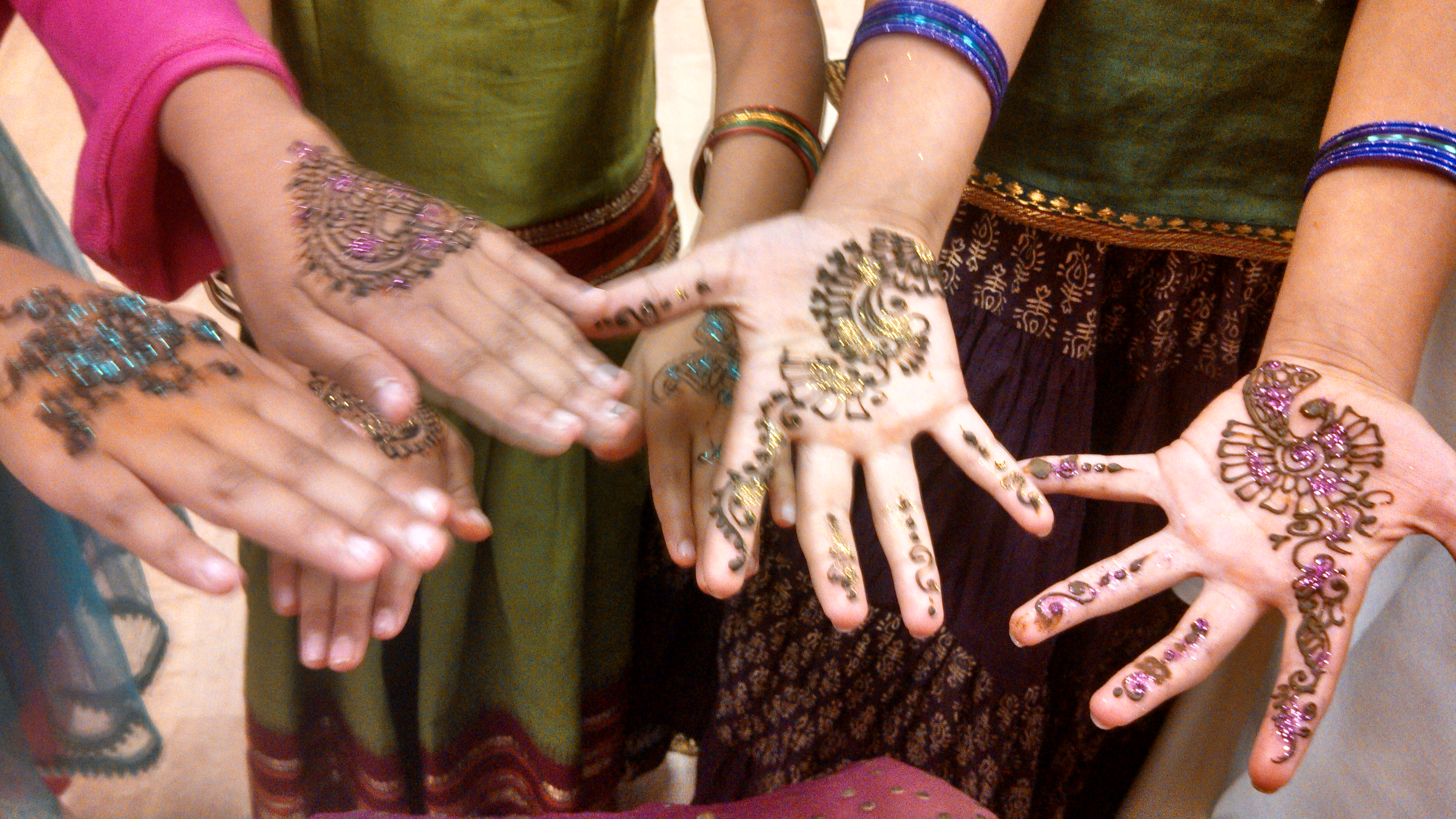 Indian Wedding Festivities - Mehndi