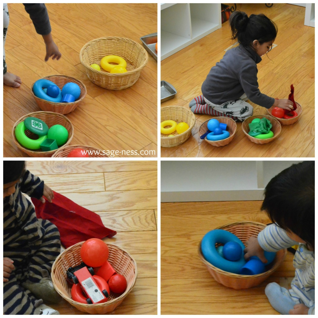 Montessori Inspired Discovery Baskets for Babies 6 to 12 months old