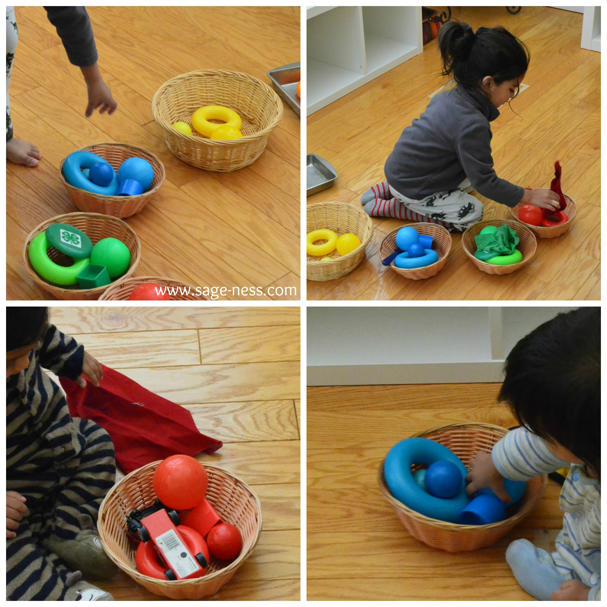 Montessori Baby Activities – 6 to 12 months – Sageness