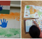 Montessori Inspired India Independence Day activities for Toddlers
