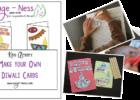 Diwali Kids Activity - Make your own Diwali Card