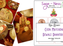 Diwali Kids Activity - Dhanteras Coin Matching