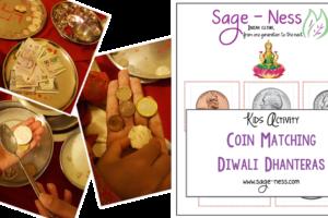 Diwali Kids Activity - Dhanteras Coin Matching