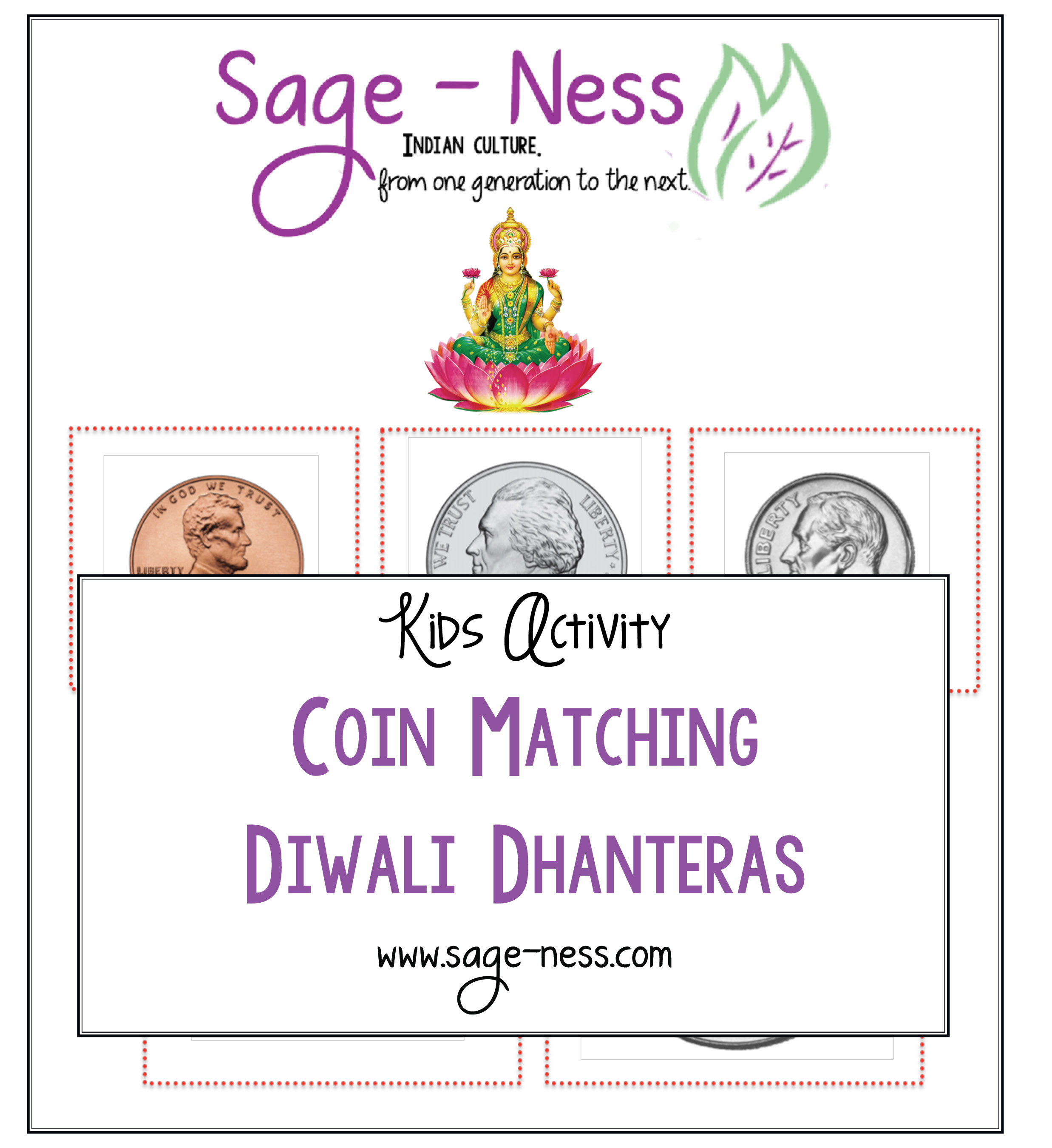 Diwali-Kids-Activity-Dhanteras-Coin-Matching