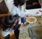 Montessori with Multiples - practical life kitchen work