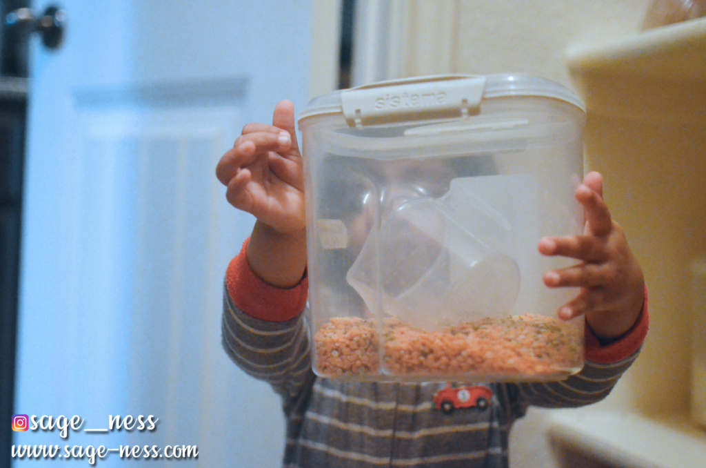 Montessori Inspired Kitchen Pantry - Indian Cooking with Kids